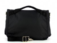 BORSA BORBONESE MEDIUM IN JET O.P. 934416.L15.O.P. NERO