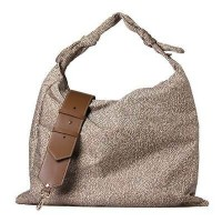BORSA BORBONESE HOBO BAG LARGE CON TRACOLLA IN PELLE